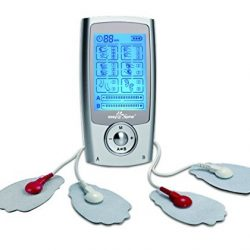 Portable Pain-Relief Electronic Pulse Massager - Easy@Home EHE029G 1